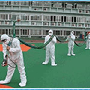 NPT聚脲喷涂材料在奥运场馆防水应用