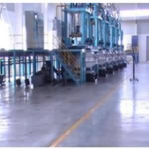 NPT环氧喷涂材料应用于生产车间地坪