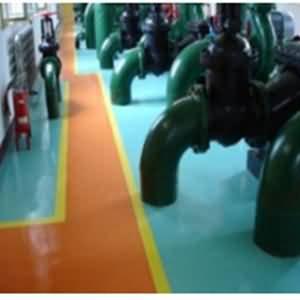 NPT环氧喷涂材料应用于厂房车间地坪
