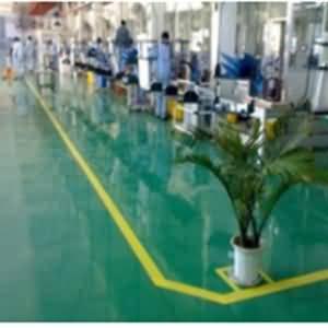 NPT环氧喷涂材料制作的高光地坪