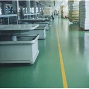 NPT环氧喷涂材料制作的玻璃钢防腐地坪