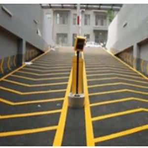 NPT环氧喷涂材料在防滑车道应用