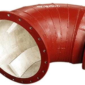 水泥(混凝土)泵车输送管陶瓷内衬的粘接