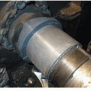 750-1500r/min传动轴工装修复工艺及标准(100℃-200℃)